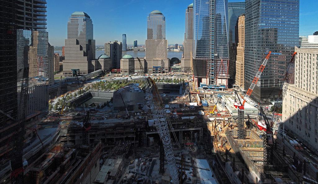 Ground Zero construction site