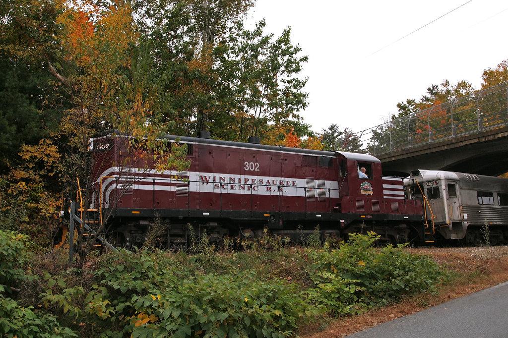 Winnipesaukee Scenic Railroad Train