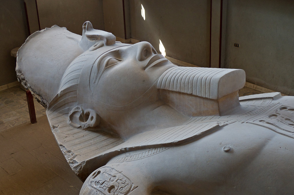 Statue of Ramesses II in Memphis