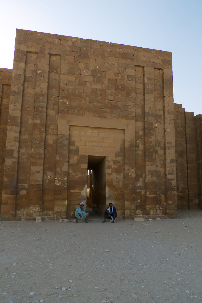 Entrance to the Temple of Saqqara