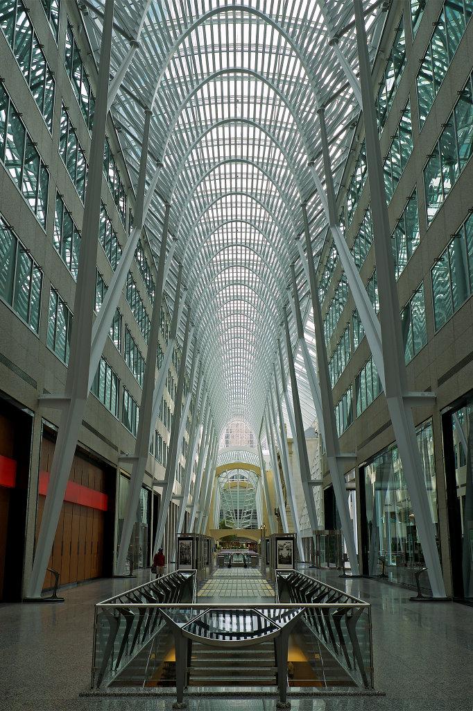 Atrium of Toronto's Brookfield Place